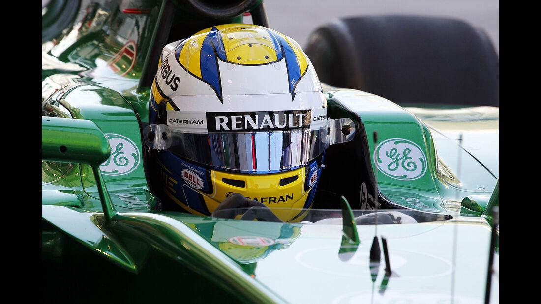 Marcus Ericsson - Caterham - Formel 1 - Bahrain - Test - 21. Februar 2014