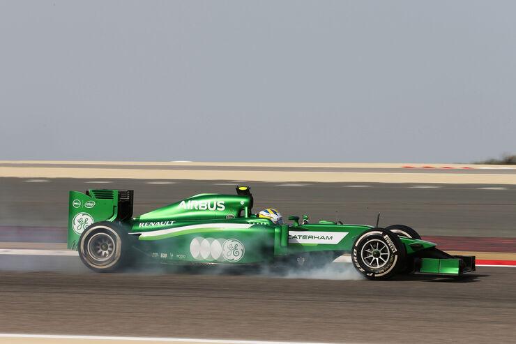 Marcus Ericsson - Caterham - Formel 1 - GP Bahrain - Sakhir - 4. April 2014