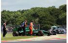 Marcus Ericsson - Caterham - Formel 1 - GP England  - Silverstone - 4. Juli 2014