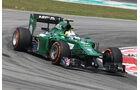 Marcus Ericsson - Caterham - Formel 1 - GP Malaysia - Sepang - 28. März 2014
