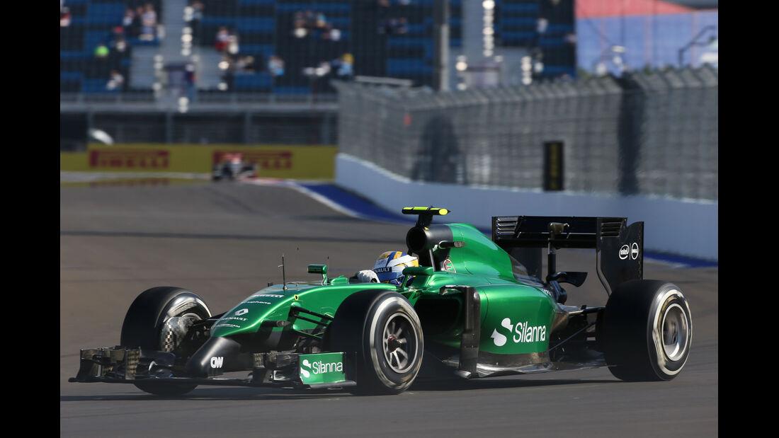 Marcus Ericsson - Caterham - Formel 1 - GP Russland - 10. Oktober 2014