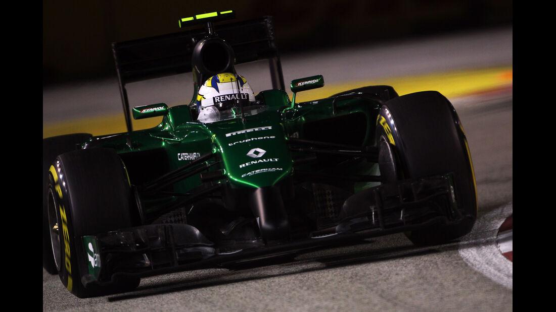 Marcus Ericsson - Caterham - Formel 1 - GP Singapur - 19. September 2014