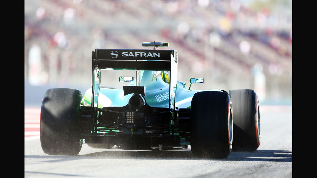 Marcus Ericsson - Caterham - Formel 1 - GP Spanien - Barcelona - 9. Mai 2014