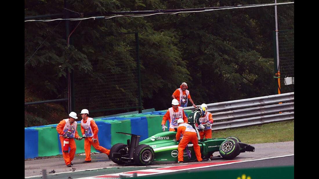 Marcus Ericsson - Caterham - Formel 1 - GP Ungarn - 27. Juli 2014