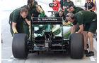 Marcus Ericsson - Caterham - Formel 1 - Test - Bahrain - 1. März 2014