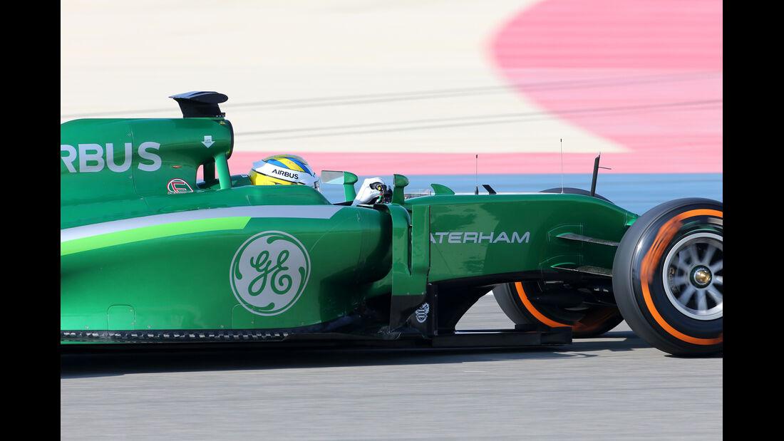 Marcus Ericsson - Caterham - Formel 1 - Test - Bahrain - 22. Februar 2014