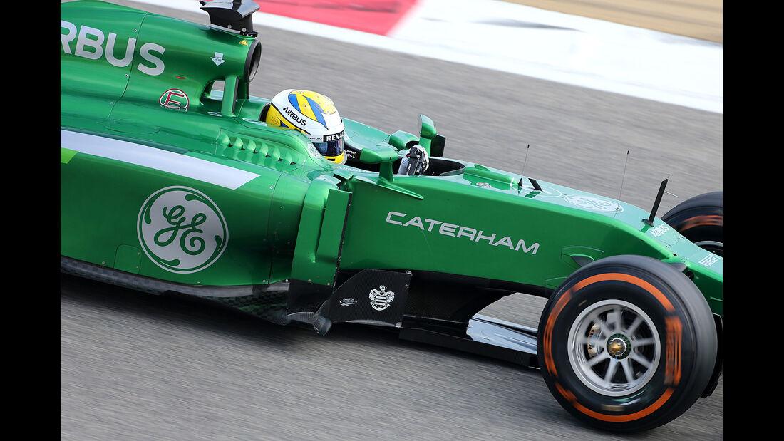 Marcus Ericsson - Caterham -  Formel 1 - Test - Bahrain - 28. Februar 2014