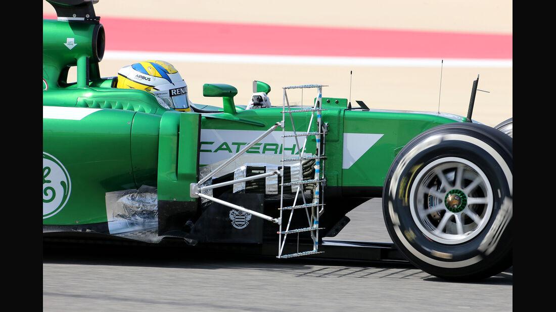 Marcus Ericsson - Caterham - GP Bahrain - Test 2 - 9. April 2014