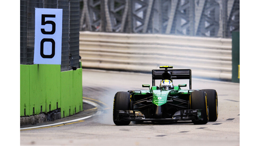 Marcus Ericsson - Caterham - GP Singapur 2014