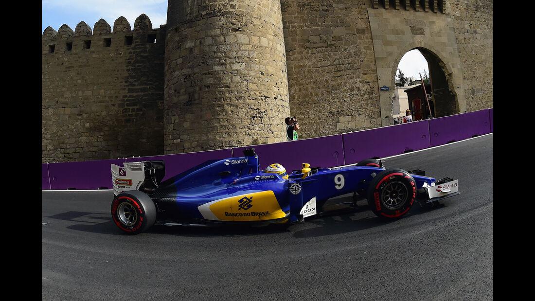 Marcus Ericsson - Formel 1 - GP Aserbaidschan 2016