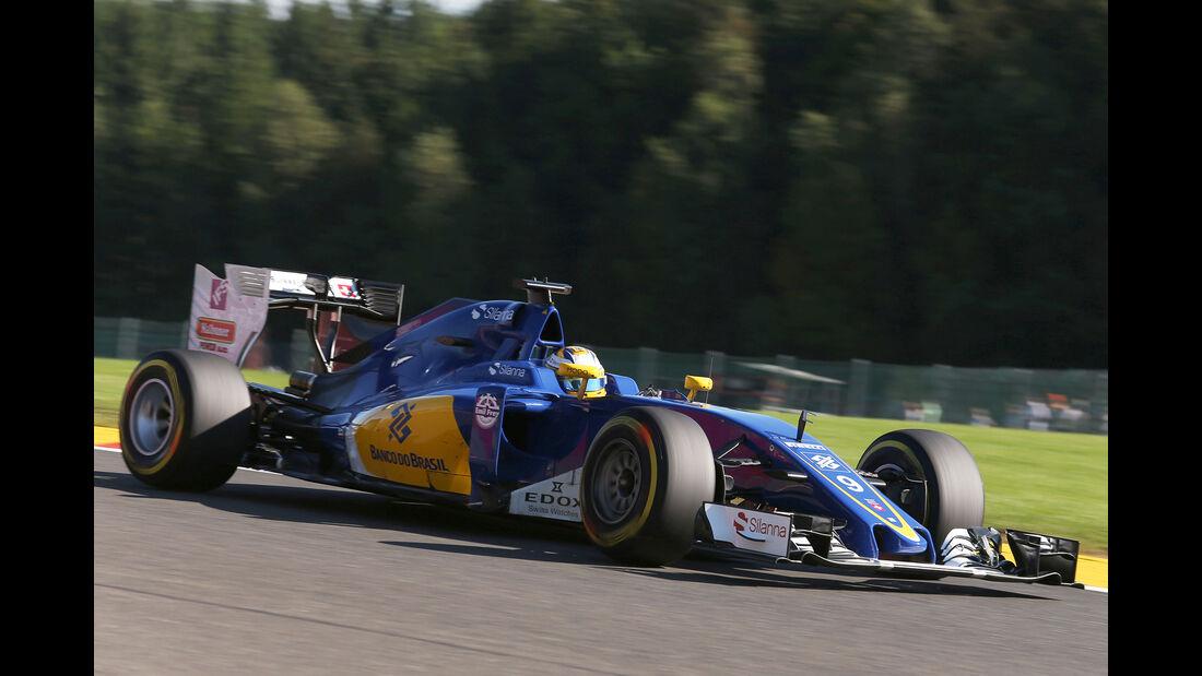 Marcus Ericsson - Formel 1  - GP Belgien 2016