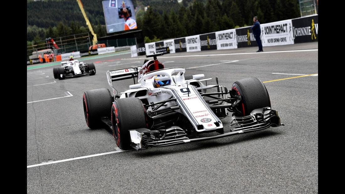 Marcus Ericsson - Formel 1 - GP Belgien 2018