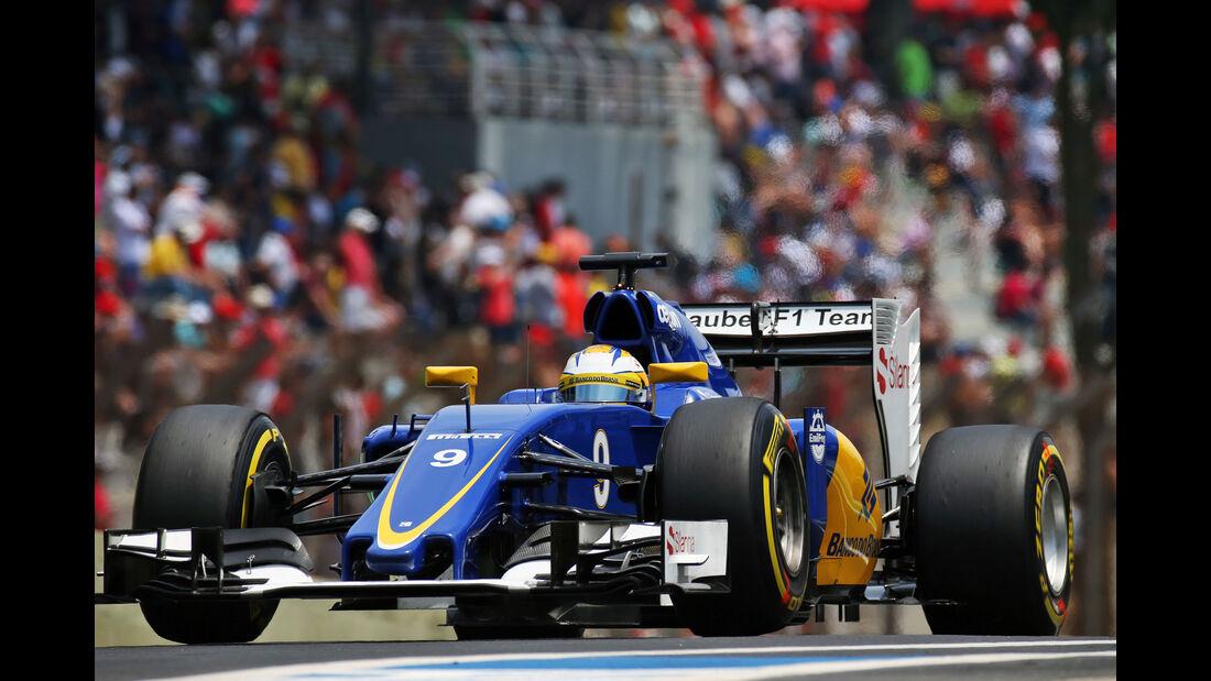 Marcus Ericsson - Formel 1 - GP Brasilien 2015