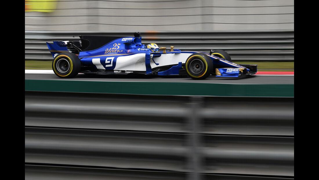 Marcus Ericsson - Formel 1 - GP China 2017