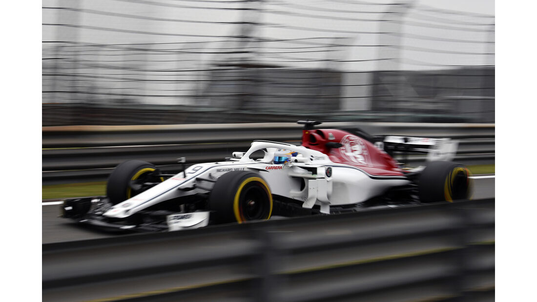 Marcus Ericsson - Formel 1 - GP China 2018