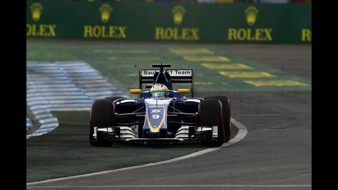Marcus Ericsson - Formel 1 - GP Deutschland 2016