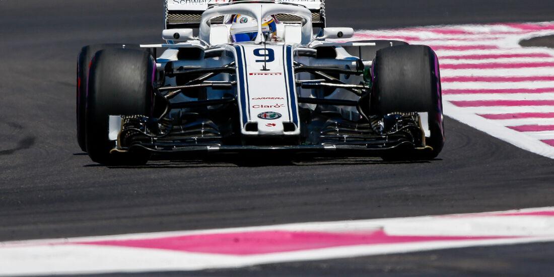 Marcus Ericsson - Formel 1 - GP Frankreich 2018
