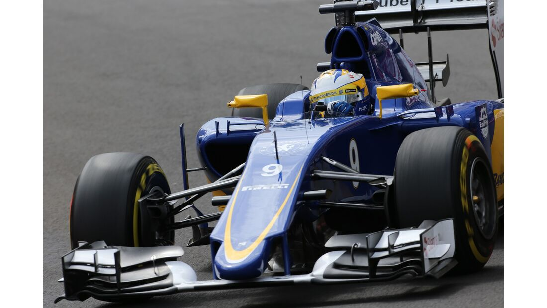 Marcus Ericsson  - Formel 1 - GP Monaco - Donnerstag - 21. Mai 2015