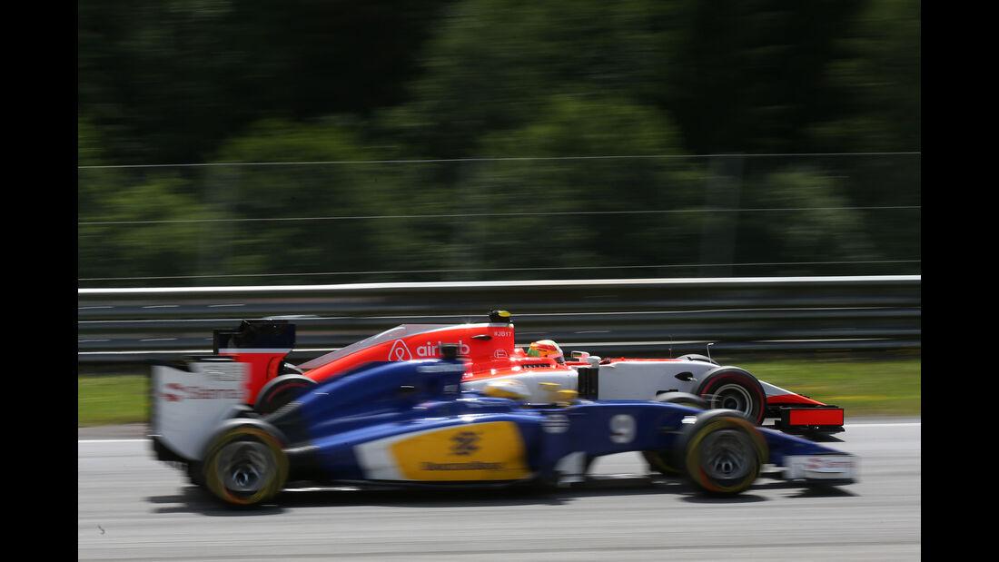 Marcus Ericsson - Formel 1 - GP Österreich 2015