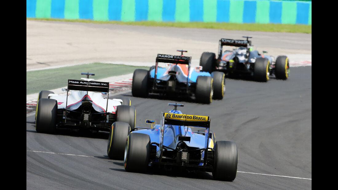 Marcus Ericsson - Formel 1 - GP Ungarn 2016
