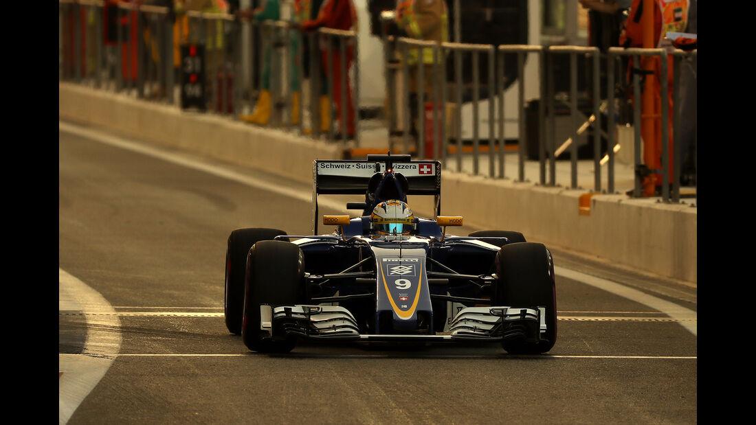 Marcus Ericsson - GP Abu Dhabi 2016