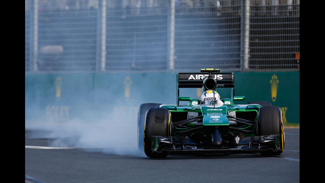 Marcus Ericsson - GP Australien 2014