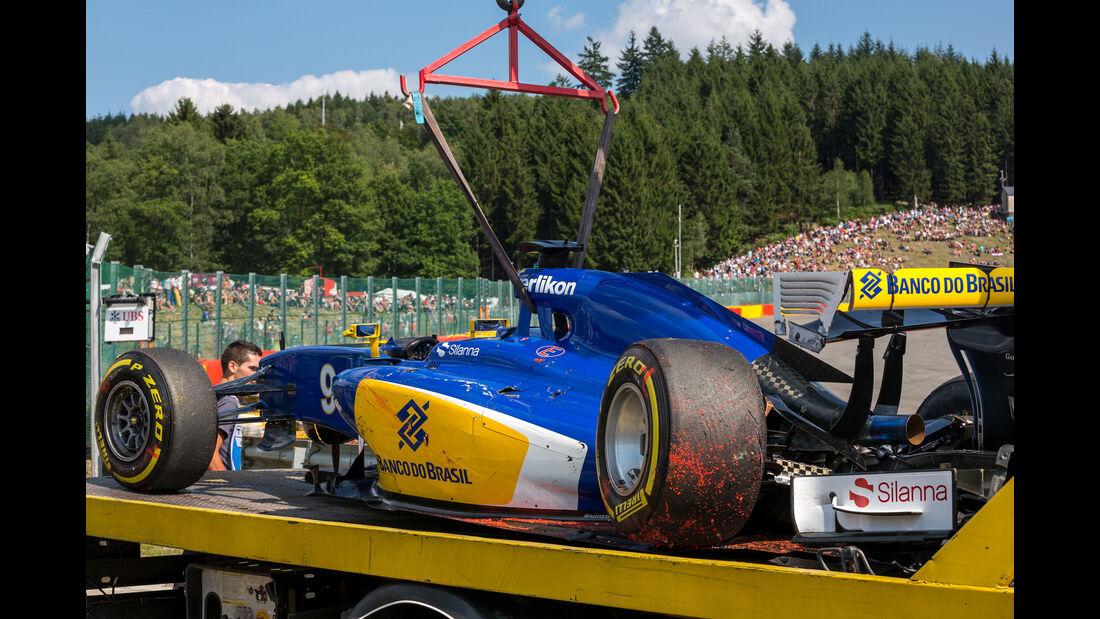 Marcus Ericsson - GP Belgien 2015
