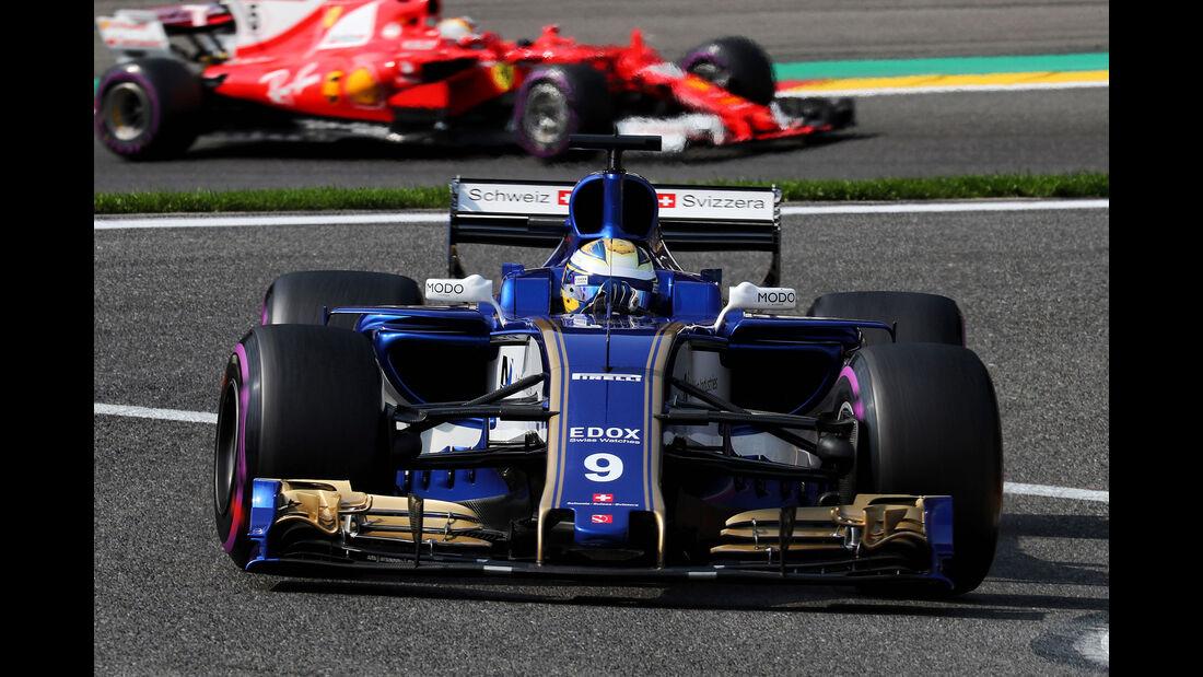 Marcus Ericsson - GP Belgien 2017