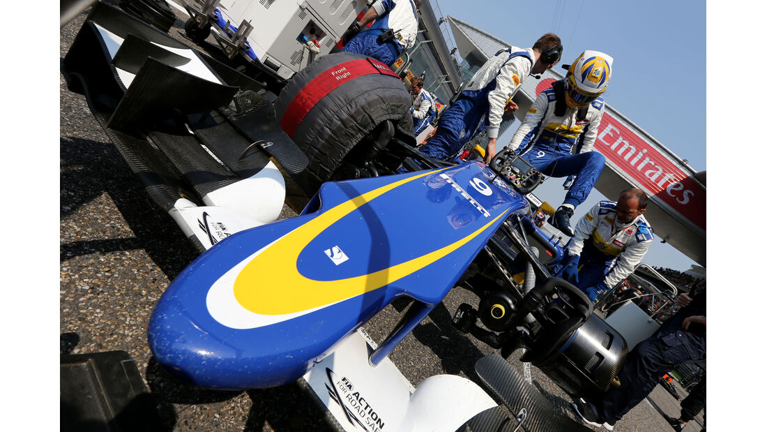 Marcus Ericsson - GP China 2015