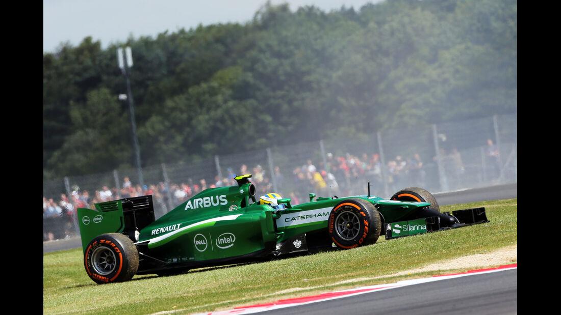 Marcus Ericsson - GP England 2014