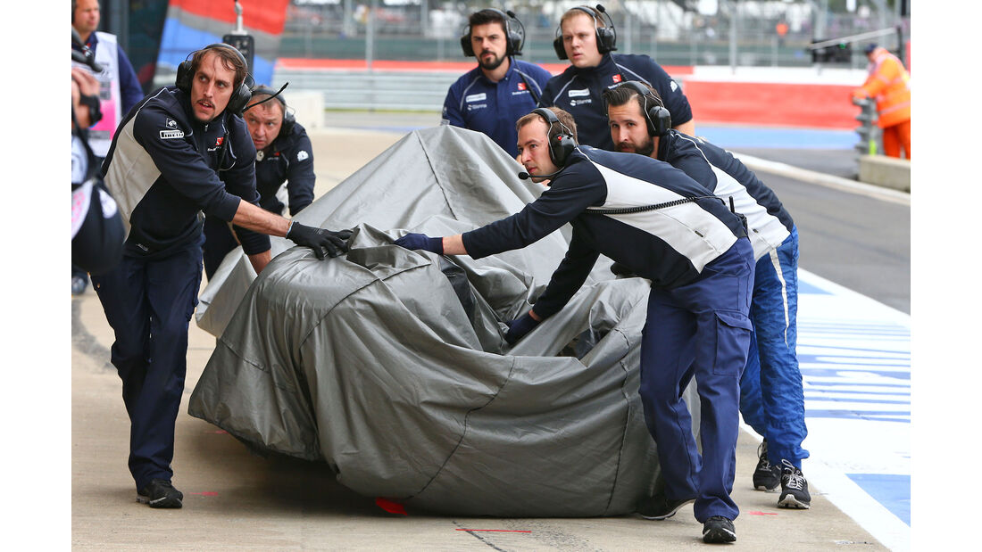 Marcus Ericsson - GP England 2016
