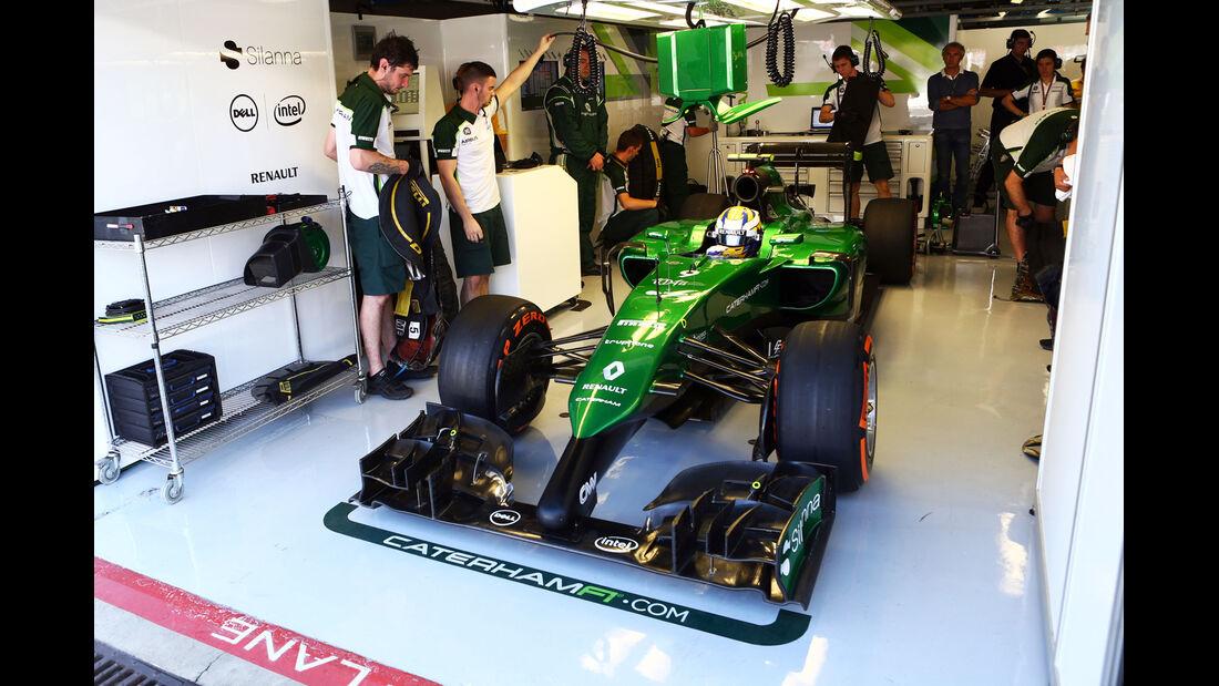 Marcus Ericsson - GP Italien 2014