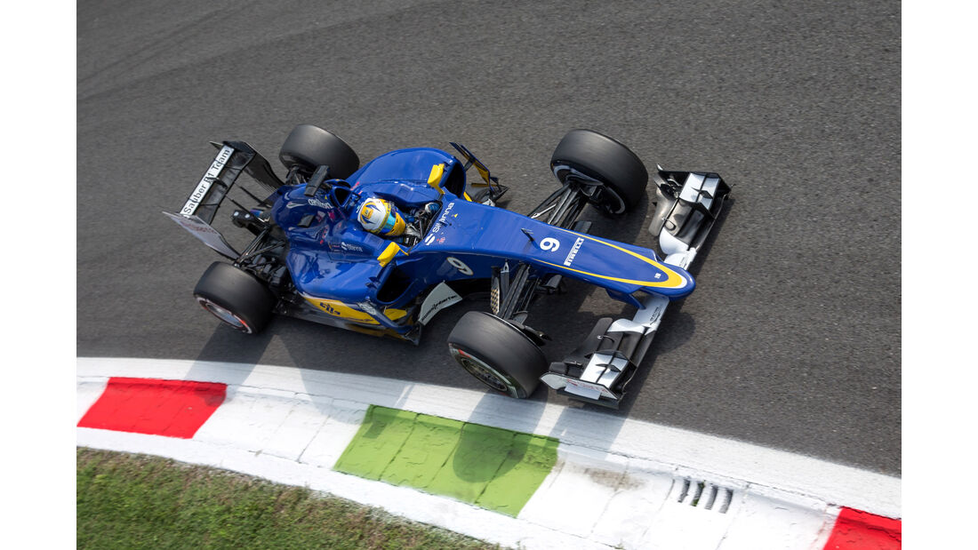 Marcus Ericsson - GP Italien 2015