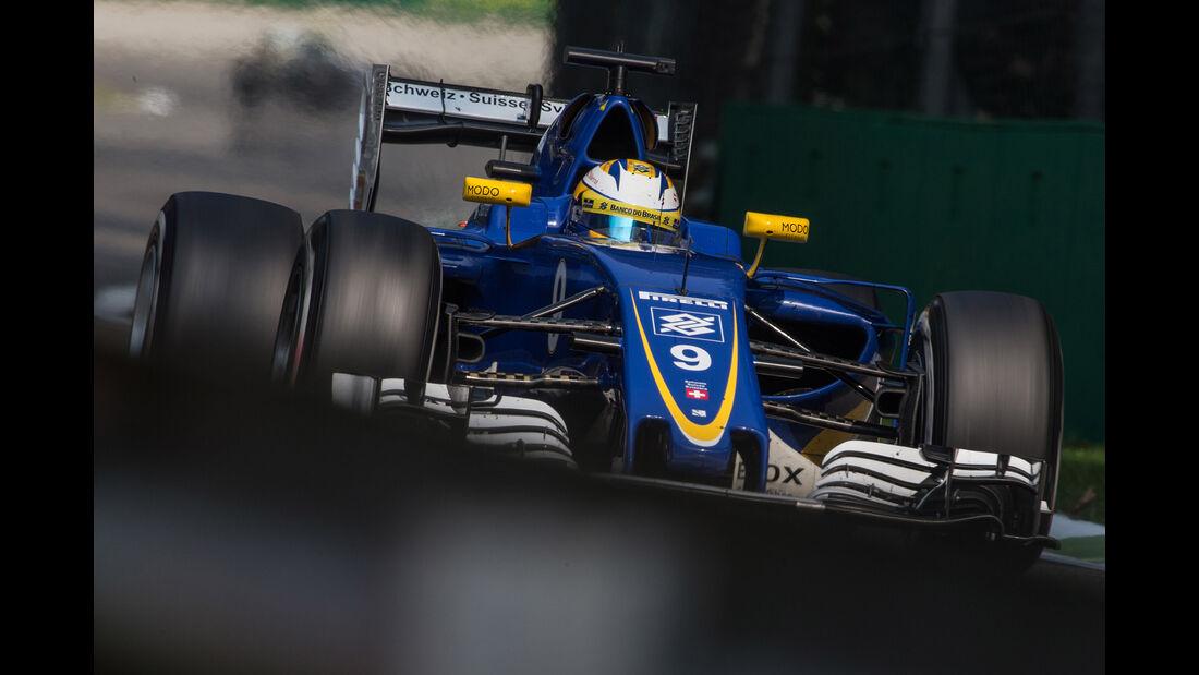 Marcus Ericsson - GP Italien 2016