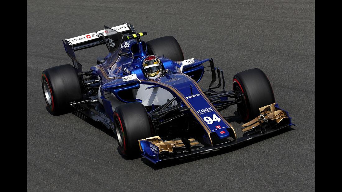 Marcus Ericsson - GP Italien 2017