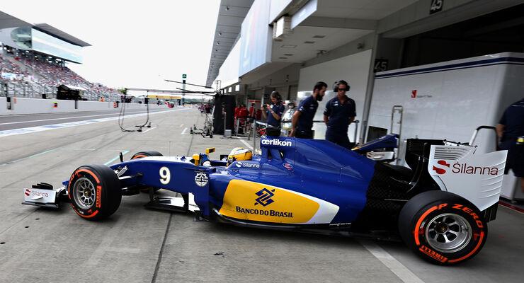 Marcus Ericsson - GP Japan 2015