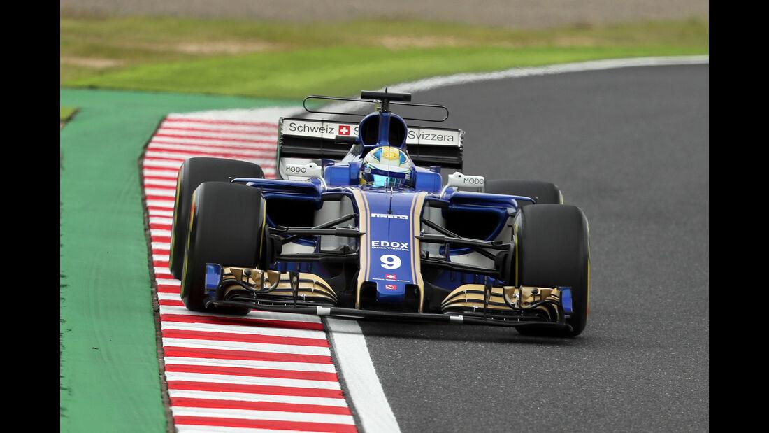 Marcus Ericsson - GP Japan 2017