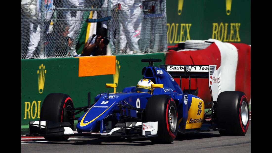 Marcus Ericsson - GP Kanada 2015