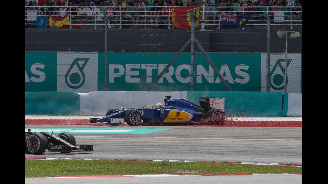 Marcus Ericsson - GP Malaysia 2015