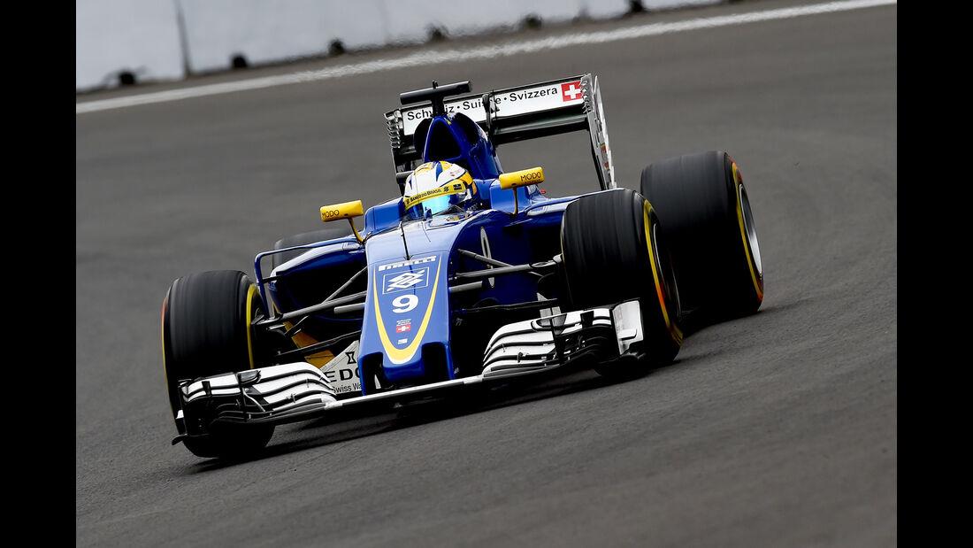 Marcus Ericsson - GP Mexiko 2016