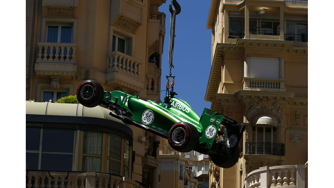 Marcus Ericsson - GP Monaco - Crashs 2014