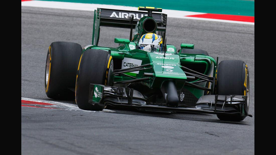 Marcus Ericsson - GP Österreich 2014