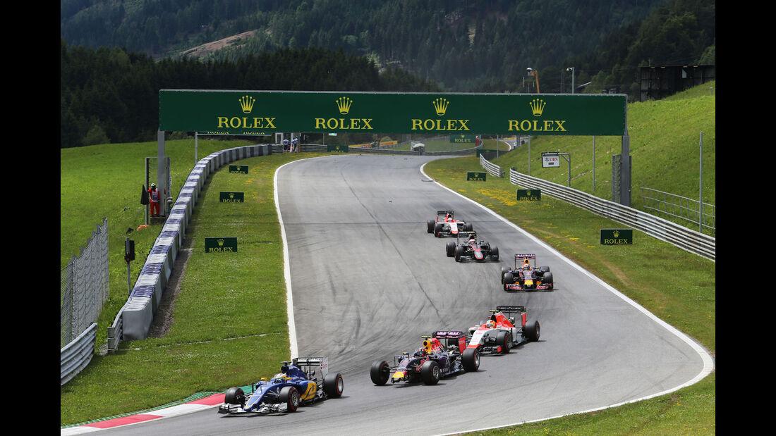 Marcus Ericsson - GP Österreich - Formel 1 - Sonntag - 21.6.2015