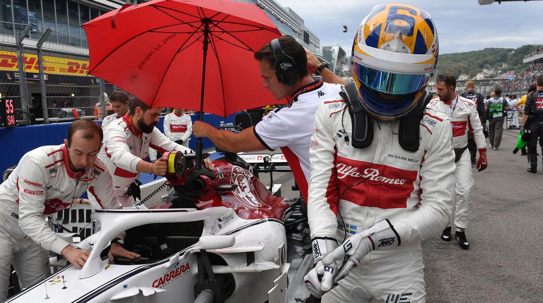 Marcus Ericsson - GP Russland 2018