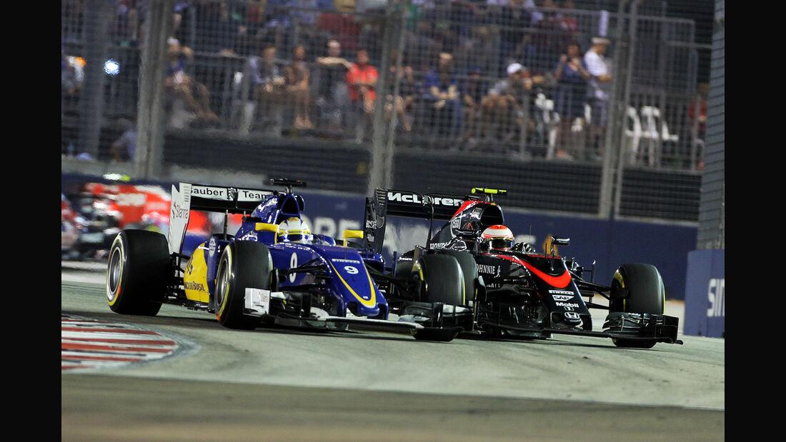 Marcus Ericsson - GP Singapur 2015
