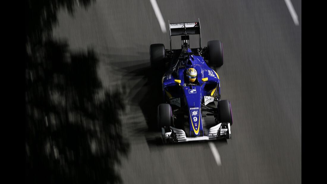 Marcus Ericsson - GP Singapur 2016