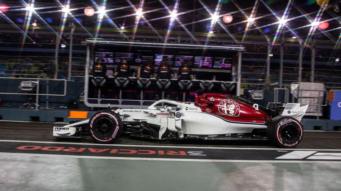 Marcus Ericsson - GP Singapur 2018