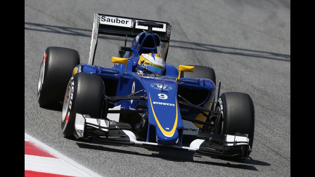 Marcus Ericsson - GP Spanien 2015