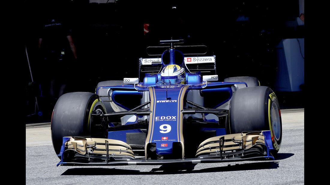 Marcus Ericsson - GP Spanien - Formel 1 - 2017