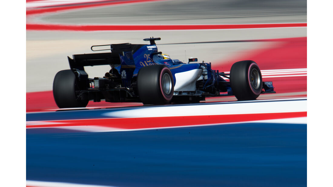 Marcus Ericsson - GP USA 2017